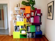 Contemporary style sectional bookcase CUBIT | Sectional bookcase - Cubit by Mymito