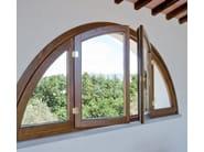 Wooden casement window ALASKA | Window - BG legno