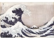 Artistic wallpaper THE GREAT WAVE OF KANAGAWA - MyCollection.it