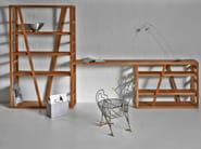 Open solid wood bookcase FACHWERK | Bookcase - vitamin design
