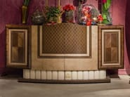 Lacquered wooden highboard with doors ARTS | Highboard - Carpanelli Classic
