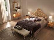 Double bed with high headboard CA D'ORO - Bolzan Letti