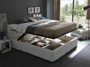 Double bed with removable cover IORCA CHIC - Bolzan Letti