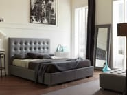 Double bed with tufted headboard JADORE - Bolzan Letti