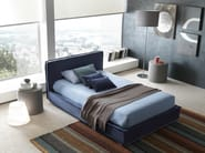 Double bed with removable cover MATERASSE' - Bolzan Letti