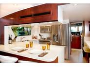 Marble grit kitchen worktop SURFACES | Kitchen worktop - TREND Group