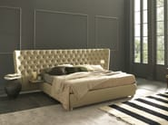Double bed with tufted headboard SELENE EXTRA LARGE - Bolzan Letti
