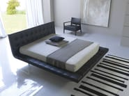Double bed with upholstered headboard STAR - Bolzan Letti