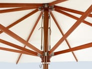 Wooden Garden umbrella TYPE H - MDT-tex