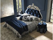Double bed with tufted headboard VELVET - Bolzan Letti