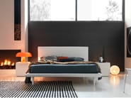 Double bed with removable cover VOLA - Bolzan Letti