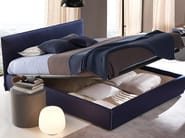 Double bed with removable cover GAYA NEW - Bolzan Letti