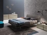 Wooden double bed TANGO WOOD | Double bed - Presotto Industrie Mobili