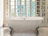 Classic style freestanding cast iron bathtub on legs VIOLET | Cast iron bathtub - GENTRY HOME
