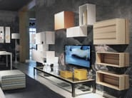 Lacquered wall cabinet CARABOTTINI - ESTEL GROUP