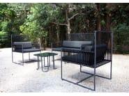 2 seater Sunbrella® sofa MIAMI | Garden sofa - Sérénité Luxury Monaco