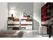 Contemporary style lacquered dresser WING | Lacquered dresser - Presotto Industrie Mobili