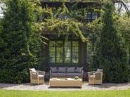 Rectangular garden side table VEGA | Garden side table - Samuele Mazza Outdoor Collection by DFN