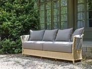 Rattan garden sofa VEGA | Garden sofa - Samuele Mazza Outdoor Collection by DFN