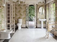 Tilting oval bathroom mirror EVE - GENTRY HOME