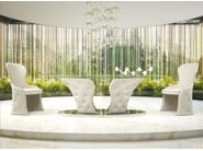 Oval crystal table PRINCE - Formenti