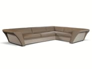 Corner leather sofa AVATAR | Sofa - Formenti