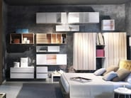 Contemporary style wooden wardrobe NUVOLA - ESTEL GROUP