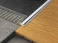 Chromed brass edge profile for floors PROANGLE - PROGRESS PROFILES