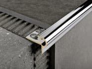 Chromed brass Step nosing PROSTYLE - PROGRESS PROFILES