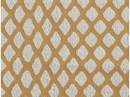 Pique fabric with graphic pattern CAVIAR - Aldeco, Interior Fabrics