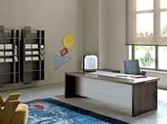 Rectangular wooden executive desk SAN MARCO - ESTEL GROUP