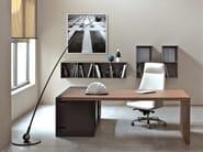 Rectangular wooden executive desk SAN POLO - ESTEL GROUP