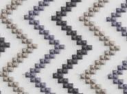 Pique fabric with graphic pattern SIRICAIA - Aldeco, Interior Fabrics
