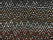 Fabric with graphic pattern ZIG ZAG - Aldeco, Interior Fabrics