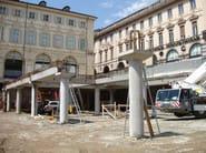 Mixed steel-concrete beam and column Pilastro - APE