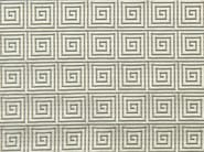 Upholstery fabric with graphic pattern ENDLESSTIME - Aldeco, Interior Fabrics