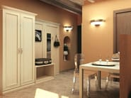 Melamine-faced chipboard wardrobe for hotel rooms AMARCORD | Wardrobe for hotel rooms - Mobilspazio