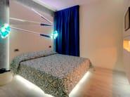 High headboard for hotel rooms ZIGZAG - Mobilspazio