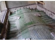 FRP reinforcing mesh for vaults and floors FIBREBUILD | Vaults and floors - FIBRE NET