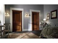 Hinged solid wood door 110 E LODE | Chestnut door - GAROFOLI