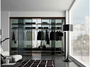 Sectional walk-in wardrobe MIRIA | Walk-in wardrobe - GAROFOLI