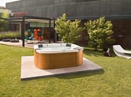 Above-ground hydromassage hot tub 4-seats DELOS | Above-ground hot tub - Jacuzzi Europe