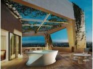 Above-ground hydromassage hot tub 2-seats FLOW - Jacuzzi Europe