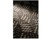 Handmade fabric rug PACIFIC - Warli