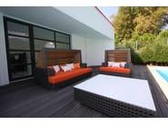 Square HI-MACS® coffee table SANTA MONICA | Coffee table - Sérénité Luxury Monaco