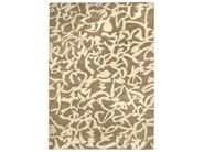 Patterned handmade rug BRUSH | Natural fibre rug - Warli