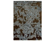 Patterned handmade custom wool rug GAP - Warli