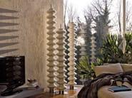Vertical floor-standing decorative radiator MILANO | Floor-standing decorative radiator - Tubes Radiatori