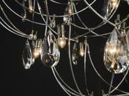 Nickel pendant lamp with Swarovski® Crystals CRYSTAL GALAXY | Pendant lamp - Quasar