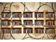 Motif wallpaper NATURAL LIBRARY - MyCollection.it